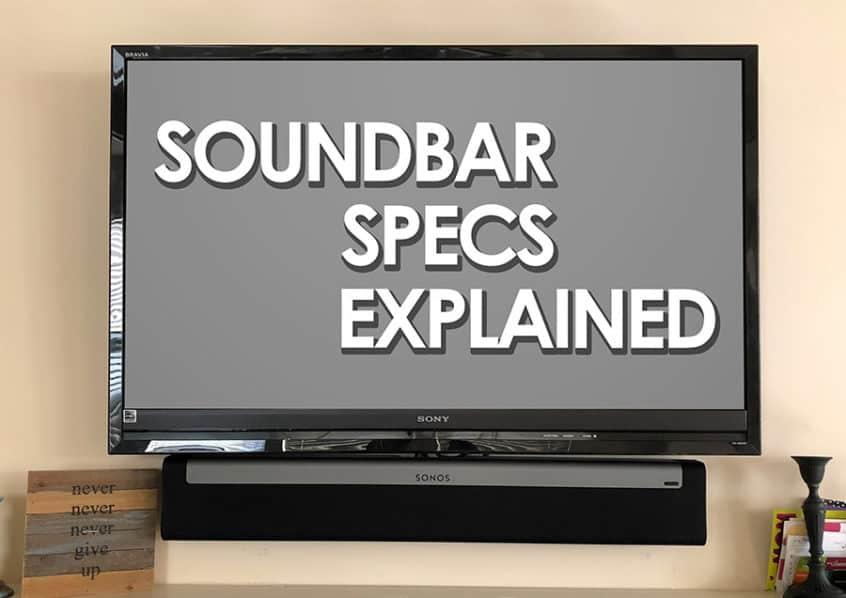 sonos soundbar setup