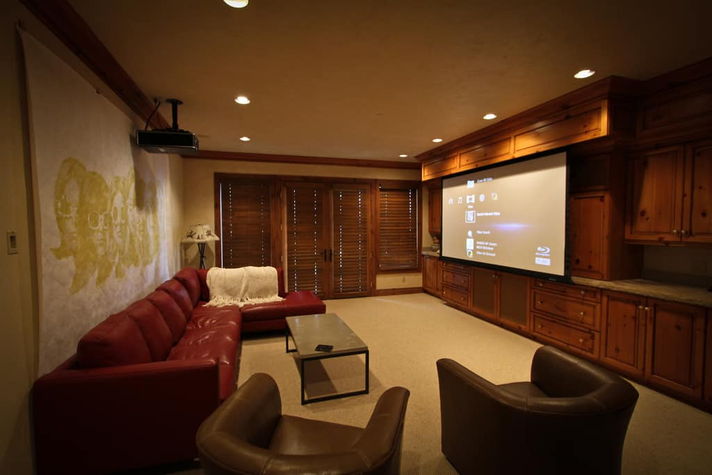 Can A Projector Be Used In A Living Room The Home