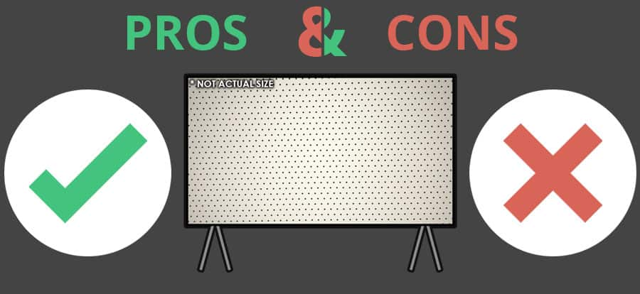 Pros and Cons of Acoustically Transparent Projector Screens