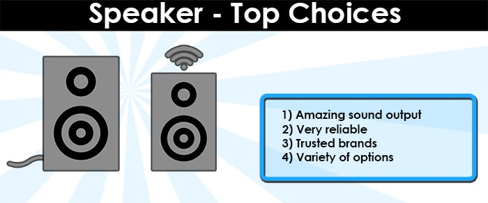 Home Theater Speaker Top Choices