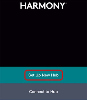 Set Up New Harmony Hub