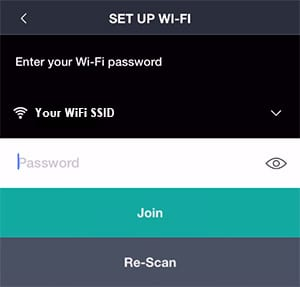Connect the Harmony Hub to the WiFi Network