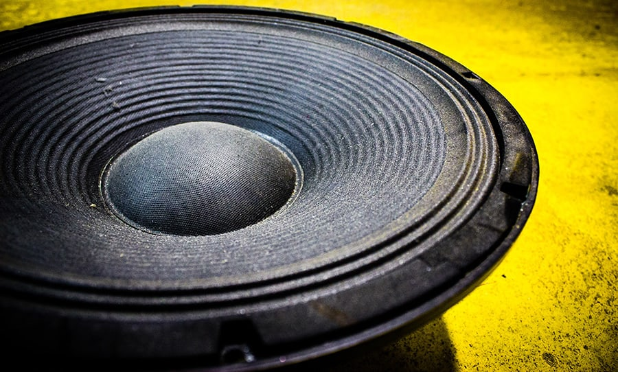 How Do You Tell if a Home Theater Subwoofer Is Blown - Speaker Cone