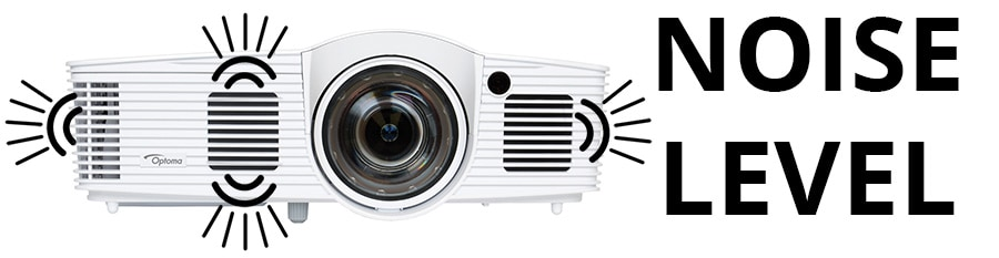 Projector Specs - Noise Level - Smaller