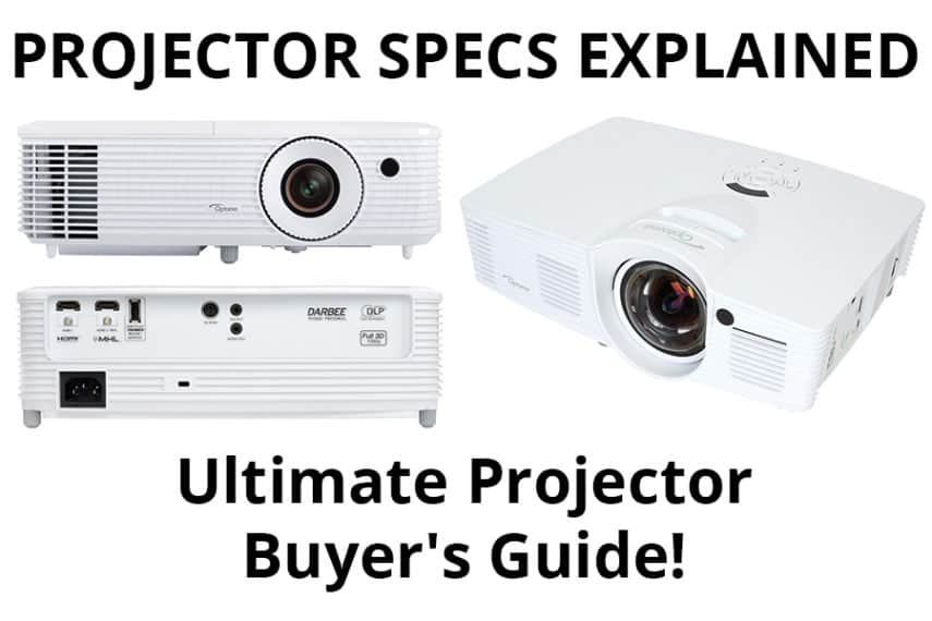 Projector Specs Explained - Featured Image - Smaller