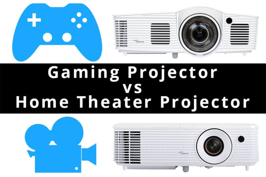 Gaming Projector vs. Home Theater Projector - Featured Image - Smaller