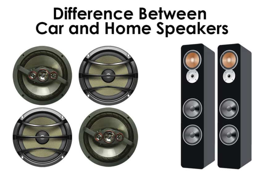 Difference Between Car and Home Speakers