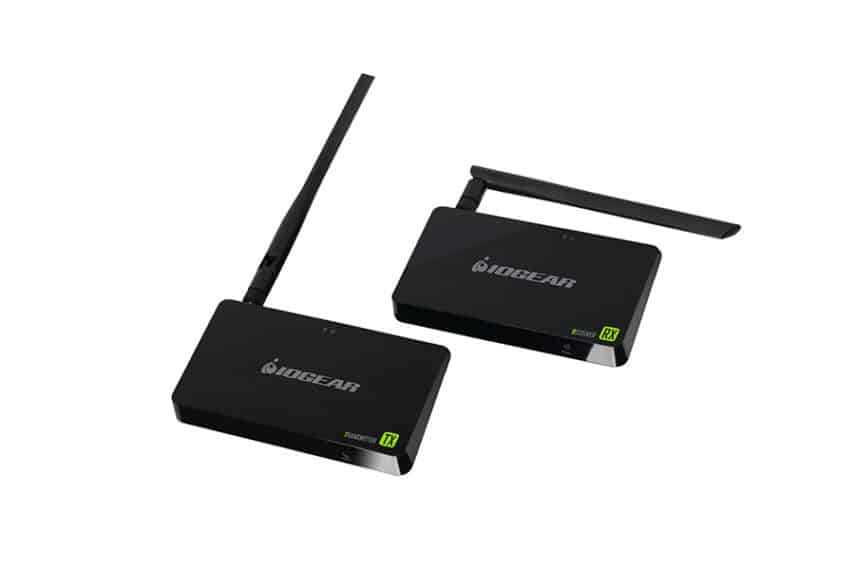 How to Send Video Wirelessly - A Complete Wireless HDMI Kit Guide - Smaller IOGEAR GW4K30KIT