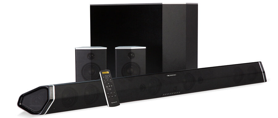 The Nakamichi Shockwafe Pro 7.1 will work great for any large room