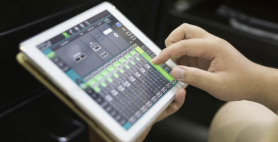 Equalizing Audio on Tablet