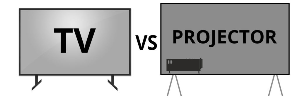 TV vs Projector: Which is better for the eyes?