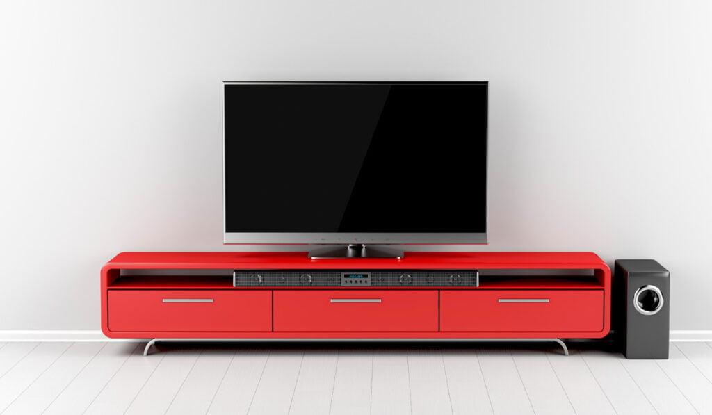 Home Entertainment Soundbar Setup