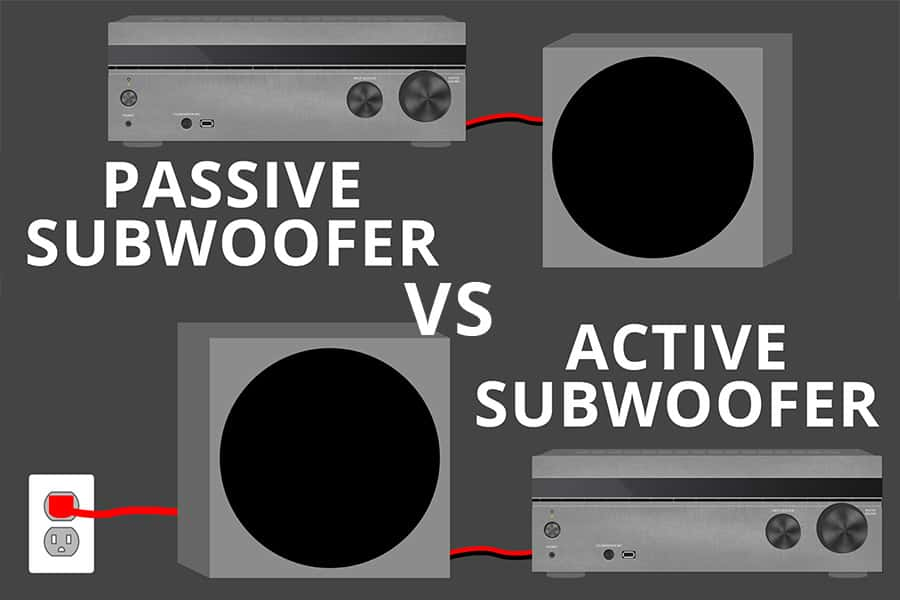 Passive vs Active Subwoofers: What are the Major Differences?