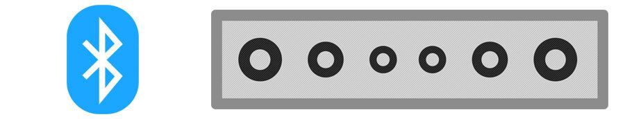 Soundbar to Receive via Bluetooth