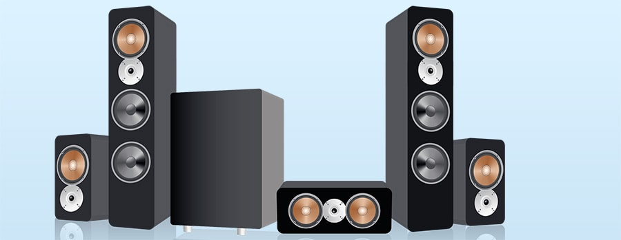 Surround Sound Speaker System