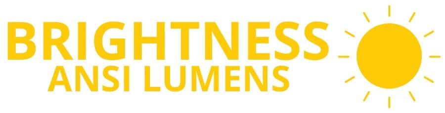 Brightness (ANSI Lumens) - Smaller