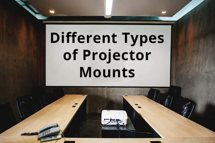 The Different Types of Projector Mounts - The Home Theater DIY