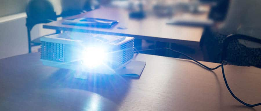 projector at seminar