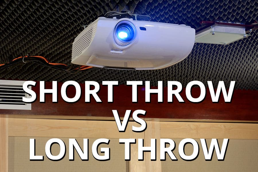Short Throw vs Long Throw Projectors - Featured Image - Smaller