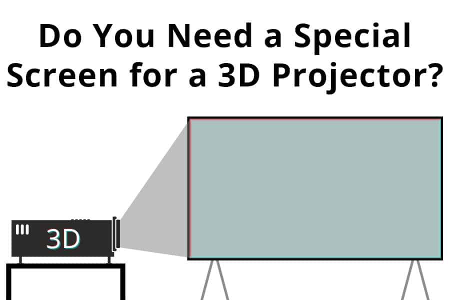 Do You Need A Special Screen for a 3D Projector