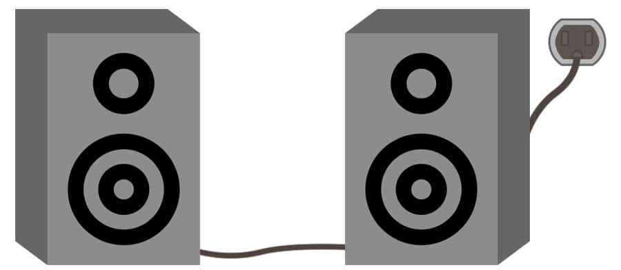 Active or Powered Speakers