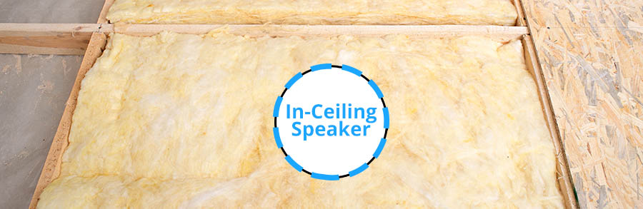 Can In-Ceiling Speakers Touch Insulation - Remove a Speaker-Sized Section of Insulation