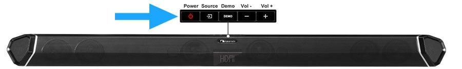 Soundbar Power Button - Smaller