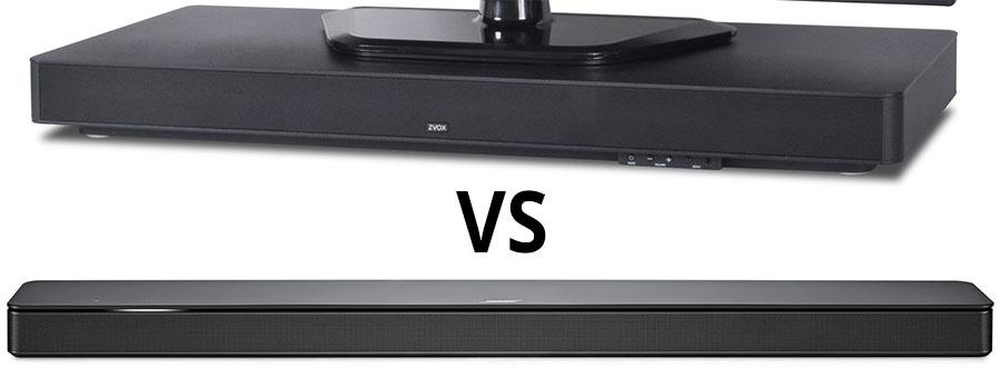 Soundbases vs Soundbars - Smaller