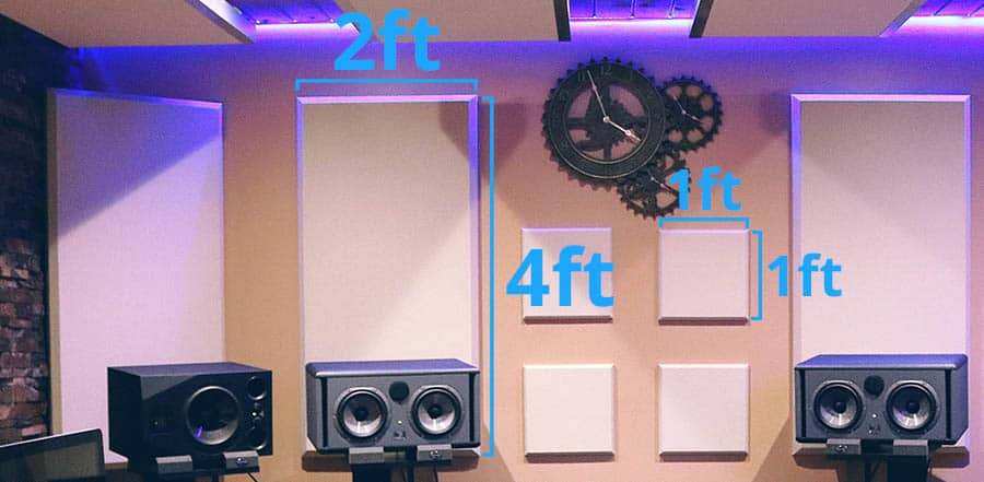 Acoustic Panel Sizing - Smaller