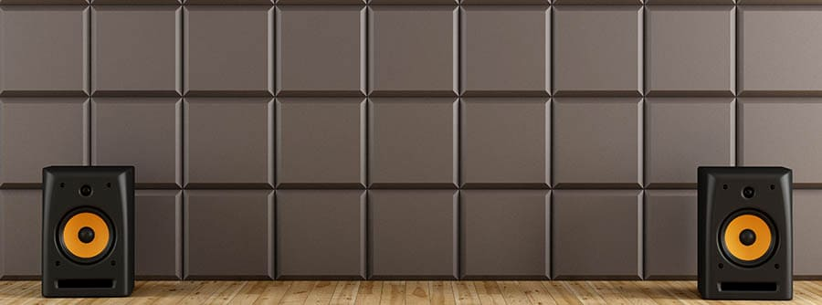 Recording studio with Acoustic Panels - Canva - Smaller