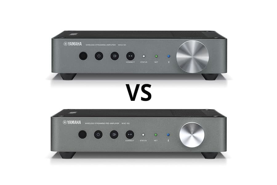 Yamaha WXA-50 vs WXC-50