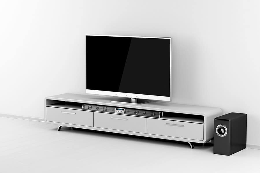 Can You Put a Soundbar in a Cabinet - Featured Image - Smaller
