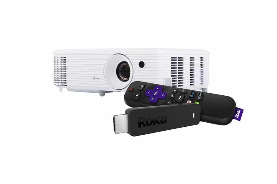 How to Connect a Roku Stick to a Projector - Featured Image - Smaller
