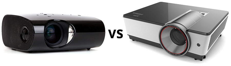 Normal Projector vs 3D Projector