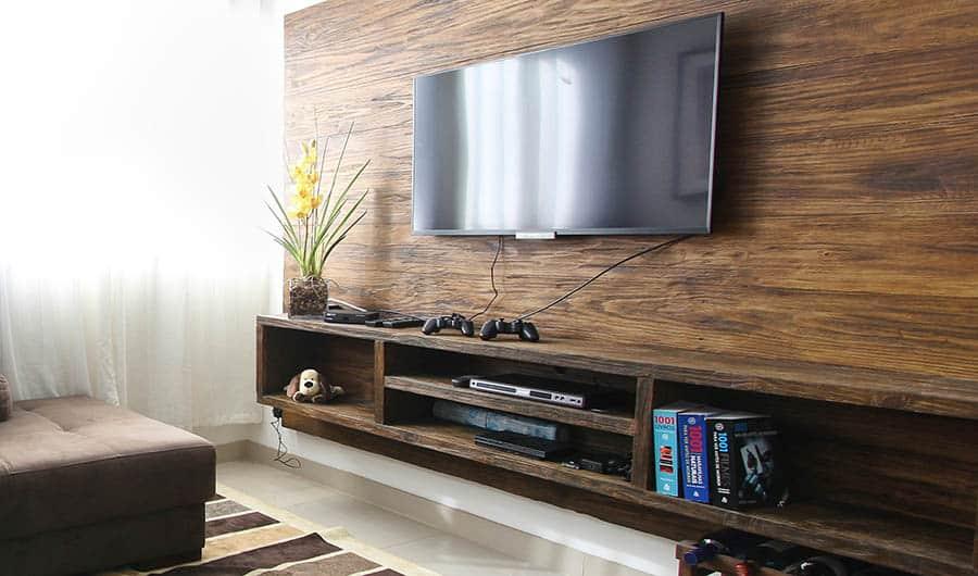TV and Entertainment Center - Smaller