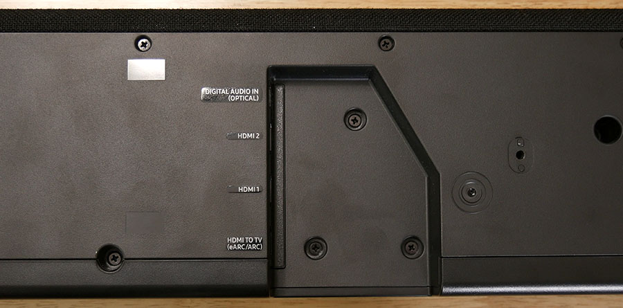 Samsung HW-Q950T Bottom Connections - Smaller