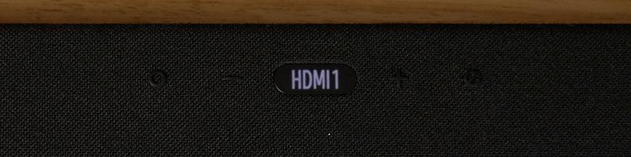 Samsung HW-Q950T Top Display - Smaller