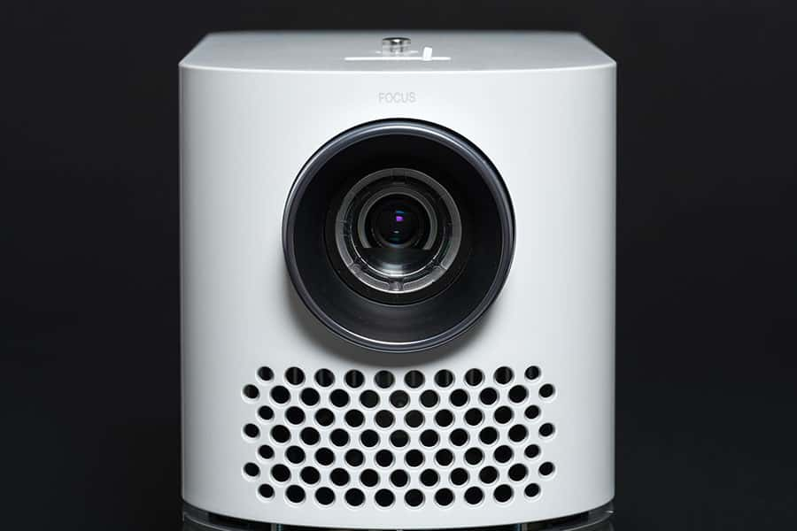 Stylish mini home cinema LED projector